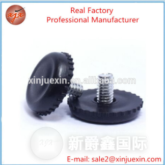 Top Sale Customized Plastic Screw Adjustable Feet For Furniture